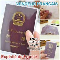 Protège document étui pochette de protection passeport Français voyage Travel