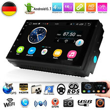 "Quad Core Android Auto Radio WIFI 7"" Doppel 2 DIN MP5 GPS NAVI Player 1G 16G DE"