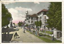170106 SONDRIO APRICA - ALBERGO APRICA Cartolina FOTOGRAFICA viaggiata 1955