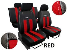 NISSAN NAVARA 4 NP 300 DOUBLE CAB FROM 2015 ECO LEATHER & ALCANTRA SEAT COVERS