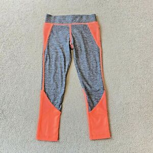 NEXT Girls Leggings Grey Orange Gym Dance Running Turquoise Kids Age 4-5 Years