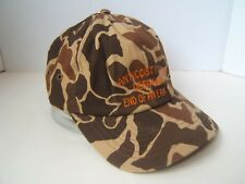 Anticosti Island Deer Hunt End of An Era 1999 Camo Hat Camouflage Strapback Cap