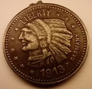 1913 United States of America FIVE DOLLAR Coin