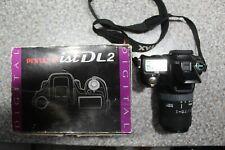 Pentax *ist DL2 DSLR camera + Sigma 55-200mm 1:4-5.6 DC lens