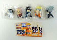 NARUTO MAGNET MINI FIGURE Complete Set Of 5 BANPRESTO JAPAN