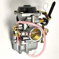 24mm Flat Side Carburetor for Honda ATV Dirt Bike Go Kart Quad Buggy Scooter E11