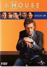Dr HOUSE  -  Coffret Intégrale de la Saison 2 -  3 boitiers slim - 6 DVD - NEUF