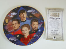 Low #4454D - Star Trek 30Th Anniversary Second In Command Plate