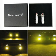 2x H3 3000K Yellow CREE 100W High Power LED Fog Light Driving Bulb DRL