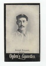 Vintage 1900 Ogden's Football Soccer Card JIMMY GREAVES BARNSLEY