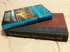 (2) JOHN GRISHAM BOOK LOT! THE RAINMAKER AND THEODORE BOONE: THE ABDUCTION