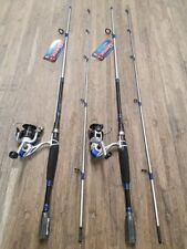 "(2) QUANTUM GEN-X2 6'6"" 2PC MEDIUM ACTION SPINNING COMBOS (GX2S662M)"