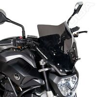 BARRACUDA WINDSHIELD AEROSPORT SMOKED YAMAHA MT 07