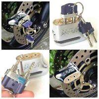 Anti-theft Dual Key Motorbike Motorcycle Scooter Disc Brake Lock Anti-Pick Lock