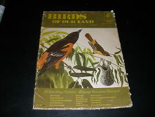 BIRDS OF OUR LAND TEACHING PICTURES 16 PICTURES 40 PG MANUAL