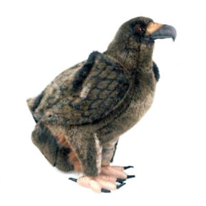 HANSA GOLDEN EAGLE REALISTIC CUTE SOFT ANIMAL PLUSH TOY 35cm **NEW**