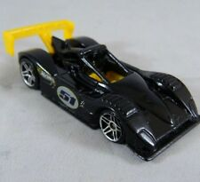 Mattel Hot Wheels 1999 Ferrari 333 SP 1:64 Diecast Race Car #51 Black/Yellow