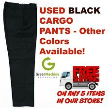 Used Uniform Work Pants Cargo Cintas, Redkap, Unifirst, G&K, Dickies and others
