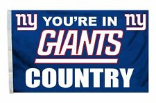 New York Giants 3x5 Country Design Flag [New] Ny Nfl Banner Sign Fan Wall House