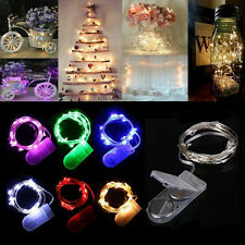 20LED Cell Battery Operated Micro Wire String Fairy light DIY Party Xmas Wedding