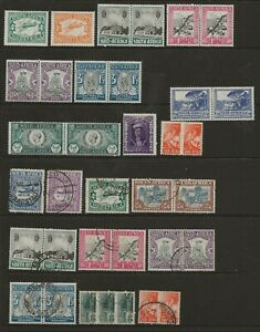 SOUTH AFRICA  SEL. OF MINT & USED 1925/42 BETWEEN SG 27 & SG 103 FINE/VERY FINE