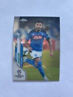 2019-20 Topps Chrome UEFA Champions League Lorenzo Insigne SSC Napoli Card #97