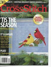 New ListingJust Cross Stitch Magazine December 2020