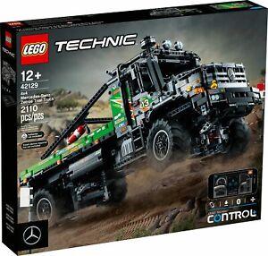 LEGO® Technic 42129 4x4 Mercedes-Benz Zetros Offroad-Truck NEU OVP + Polybag!