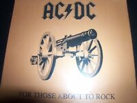 AC/DC For Those About To Rock (Re-issue) (We Salute You) (Australia) CD – New