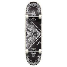 Yocaher Graphic Complete Skateboard - Bandana Black