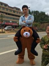 Teddy Bear Mascot Ride on Animals Costume Party Fancy Dress pants funny handmade
