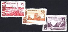 CANADA STAMPS — 1967 CENT'L -- (3) DIFF 'TAGGED' -- HB +DEX -- MINT