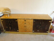 70's MODERN THOMASVILLE FOUNDERS CARPATHIAN ELM BAR CABINET CREDENZA BAUGHMAN