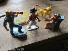 Disney-Vente lot figurines-Sinbad,roi lion,gomme publicitaire peter pan......