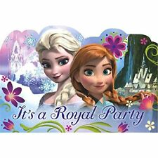 Disney Frozen Party Invitations Pack of 8 Postcards Envelopes Seals Save a Date