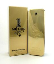 1 One Million Cologne by Paco Rabanne 6.8 oz. EDT Spray for Men. New.Sealed Box.