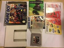 NINTENDO GAMEBOY GAME CONTRA THE ALIEN WARS BOXED COMPLETE RARE US IMPORT