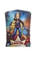 Marvel Movie Captain Marvel Super Hero Doll & Marvel's Goose the Cat