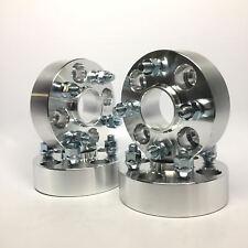 "4X 50mm 2.0"" Inch Wheel Spacers | Hub Centric | 4x100 | 57.1 CB | 12X1.5"
