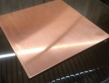 """1/8"""" COPPER SHEET PLATE NEW 12""""x12"""" .125 THICK *CUSTOM 1/8 SIZES AVAILABLE*"""