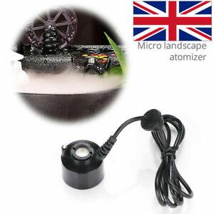 24V Mini Ultrasonic Mist Maker Fogger Water Air Humidifier Fountain Atomizer