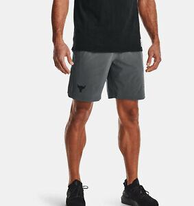 "2021 Under Armour Men's UA Project Rock Snap Shorts Dwayne ""The Rock"" Johnson"