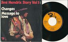 "JIMI HENDRIX 45 TOURS 7"" FRANCE CHANGES"