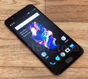 OnePlus 5 (A5000), 64GB, UNLOCKED, Slate Grey, dual-SIM (45NA)