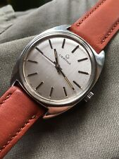 1970s Certina 25-66M Steel Case Silver Dial Mens Watch