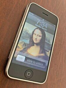 iPhone A1203 2G 1st Gen 8GB Unlocked Original IOS 1.0 Filmware 12 icon RARE FIND