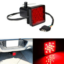"LED Tail Brake Stop Light Cover for 2"" Truck Trailer Towing Receiver Hitch Cap"
