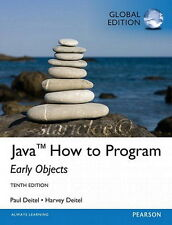 NEW 3 Days 2 US Java How to Program Early Objects 10E Harvey Deitel 10th Edition