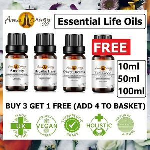 Essential Oils Aromatherapy Pure Natural LIFE Essential Oil Fragrances Diffuser