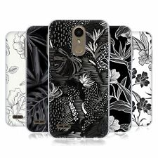 OFFICIAL HAROULITA BLACK AND WHITE 5 SOFT GEL CASE FOR LG PHONES 1